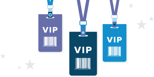 vip customer invitations